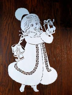 Disney Drawings, Kirigami, Paper Cutting, Paper Art, Diy And Crafts, Stencils, Minnie Mouse, Disney Characters, Fictional Characters