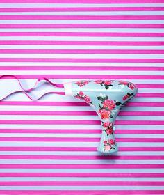 001 1 Still Life Product Photographer Pedersen beauty hairdryer electrical ribbon