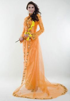 .:: Vietnamese Wedding Dress Ao Dai Minh Thu ::.