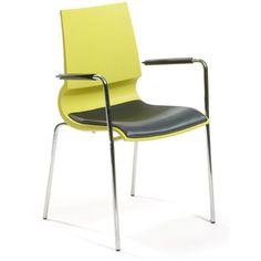 Knoll Gigi Stacking Arm Chair