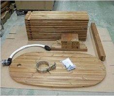 Деревянная купель для бани своими руками. Детали