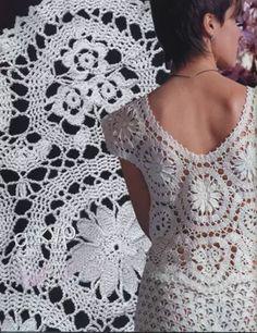 "Photo from album ""Журнал Мод on Yandex. Crochet Art, Irish Crochet, Crochet Stitches, Crochet Hooks, Free Crochet, Crochet Patterns, Bruges Lace, Point Lace, Irish Lace"