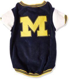 Sporty K9 Michigan Varsity Dog Jacket II, Large *** Be sure to check out this awesome product. (This is an affiliate link) #Pets