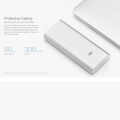 Xiaomi Portable Large Capacity Safe Mi Power Bank Dual USB Ports Aluminum Casing for iPhone 6 6 Plus Samsung HTC Smartphones Iphone 6, Iphone Cases, Smartphones For Sale, Cell Phone Accessories, Usb, Samsung, Wallet, Epsom Salt, Drill