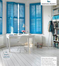 Three Ways To A Colourful Window Treatment