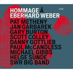 Drawn from jubilee concerts at Stuttgart's Theaterhaus in January 2015 to mark the 75th birthday of the great German bassist Eberhard Weber, this is a remarkable live album incorporating big band arrangements of Weber compositions as well as striking new music from old friends Pat Metheny and Jan Garbarek.  Hear clips and find out more at http://www.propermusic.com/product-details/Pat-Metheny-Jan-Garbarek-Gary-Burton-and-SWR-Big-Band-Hommage-a-Eberhard-Weber-202529