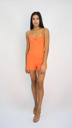 2880dbea91 Jumpsuits   Rompers · KOOKAI Orange Playsuit Size 36(S)  fashion  clothing   shoes  accessories