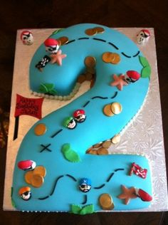 ahhh decisions, decisions! why i MUST start early! LOL! Pirate Themed Second Birthday Cake