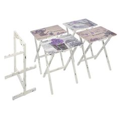 5-Piece Provence Side Table Set