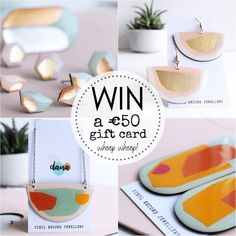 """Ends June 6th 2020 @creationsdanajewellery⚡It's GIVEAWAY o'clock!⚡Win a €50 gift card to spend on handmade upcycled vinyl record jewellery at DANA"""" #recycled #sustainablefashion #ethicalfashion #slowfashion #upcycled #handmade June 6th, Slow Fashion, Sustainable Fashion, Vinyl Records, Giveaway, Upcycle, Recycling, Clock, Jewels"""