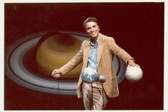 The late astronomer Carl Sagan has inspired scientists, astronauts and the world with his work popularizing science and astronomy. See the long-lasting legacy of Sagan, an astronomy educator for the ages, in this Space.com gallery. Here: Carl Sagan standing with hands on globes of planets. Undated file photo.