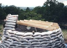 HowStuffWorks Materials of Earthbag Construction...I want to do this for a dry storage.
