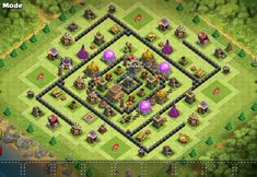 MEGACube Layout Archer Queen, Clan Castle, Barbarian King, Off The Map, Town Hall, Clash Of Clans, Troops, Are You The One, Minions