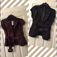 Juniors L Dress Jackets. Nwt On The Brown One!
