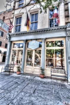 Whisk Bakery in downtown Charleston, South Carolina. I enjoyed an awesome dessert here after an afternoon photographing Charleston. The staff was wonderful - showing pure southern hospitality - and the sweets were amazing. This HDR image was processed using Nik Software's HDR Efex Pro and Color Efex Pro.