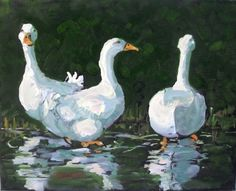 """""""Attempts at Rows"""" - by Rick Nilson.... ~Oil on stretched canvas"""