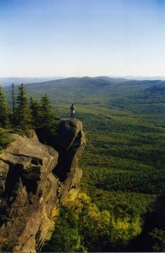 Chimney Trail /Tumbledown Mt. in western Maine
