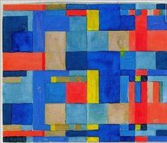 Gunta Stolzl, Bauhaus textile sketch