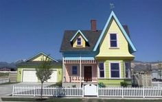 the house from UP in real life
