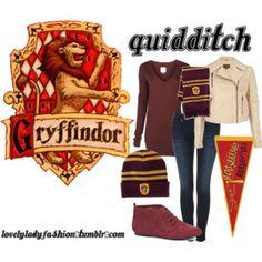 Winter Quidditch Game