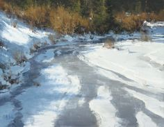 Matt Smith Painting Snow, Winter Painting, Artist Painting, Paintings I Love, Acrylic Paintings, Landscape Paintings, Classical Realism, Western Landscape, Landscaping Images