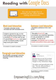 teaching with technology Google Docs