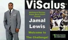 Guess what, Baltimore Ravens Super Bowl Champion, Jamal Lewis has join The #BodyByVi 90 Day Challenge! Just another reason why you should join the #1 #health and #fitness challenge in all of North America! Learn more here: http://www.drleannegeorge.myvi.net