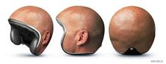 Image result for 3d bald man head from side