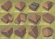 1000 Images About Construction Roof Types On Pinterest