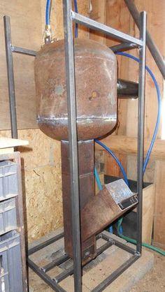Chauffe-eau à bois - Les outils de l'autonomie