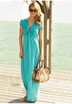 Beach dress but better if sleeveless