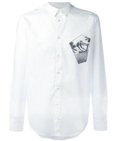 MSGM Msgm Men'S  White Cotton Shirt'. #msgm #cloth #dress shirts