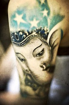 So beautiful! The Remover of Obstacles...LOVE this #Ganesh #tattoo Jai Ganesha
