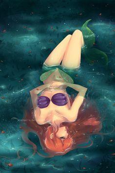 Anime style Ariel