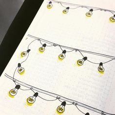 "14 Likes, 1 Comments - a norwegian bullet journal (@bulletjournal_no) on Instagram: "" #bulletjournalno #bulletjournal #tombow #leuchtturm1917 #bujo #bujoinspo #lightbulbs #lightchain…"""