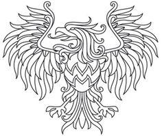 Gilded Heraldry - Eagle design (UTH7820) from UrbanThreads.com