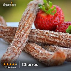"Churros | ""I doubled the batch, thank goodness, because no one could stop eating them. Used my deep-fryer to cook them...very quick and simple."""