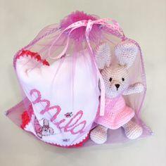 Las Marinas Crochet: Regalo para una bebita luchadora