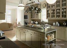 Traditional kitchen with plenty of storage