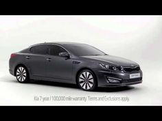 The New Kia Optima TV Advert | Kia Optima 2012 Advert