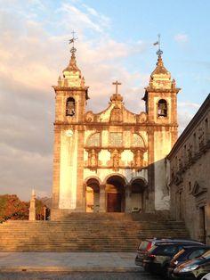 Church next to Pousada de Amares in the tiny village of Santa Maria do Bouro, Portugal