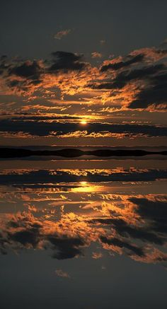 False Sunset / by Andy Astbury Sunset over the Flatanger Archipelago in Norway fineartamerica.com