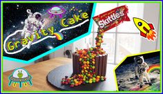 Gravity Cake Skittles - Recette -> Carl is cooking youtube