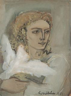 Avni Arbas - woman with dove