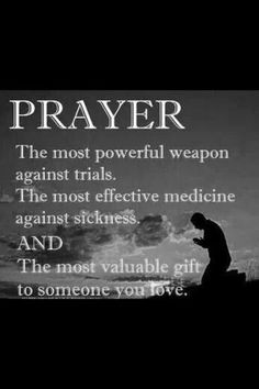Prayer: powerful weapon