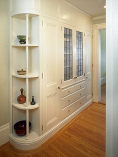 Linen Closet Ideas Hall Traditional With Beacon Hill Cabinetry Condo Design Hallway