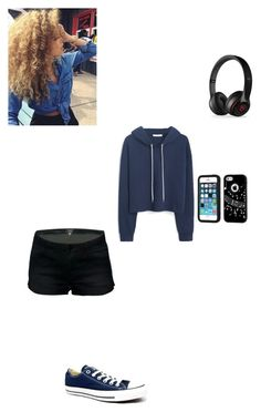 """hangin with the friends"" by nynystrong on Polyvore featuring MANGO, Converse, Black Apple and Music Notes"