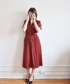 I spy a perfect photographers dress by DOTTO