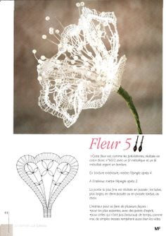 Bobbin Lace Flower