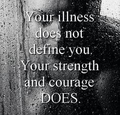Mental illness.